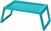 IKEA 503.276.99 Klipsk Betttablett, türkis