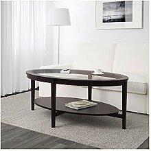 IKEA.. 602.611.84 Couchtisch Malmsta, schwarz-braun