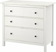 IKEA.. 703.604.14 Hemnes Kommode mit 3 Schubladen,