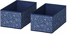 IKEA.. 703.954.04 Storstabbe Box, blau, weiß