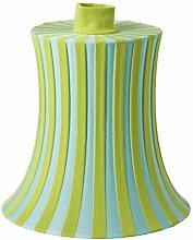 IKEA amtevik Lampenschirm blau grün Streifen