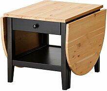 Ikea Arkelstorp - Couchtisch, schwarz - 65x140x52