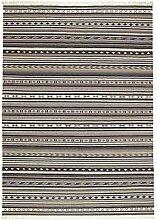 IKEA ASIA KATTRUP Teppich Flatwoven Handarbeit grau