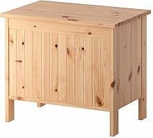 IKEA ASIA SILVERAN Sitzbank mit Stauraum, Hellbraun