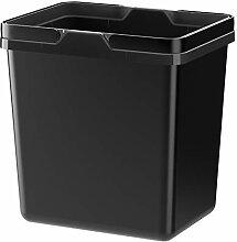 IKEA ASIA VARIERA Abfallsammler schwarz
