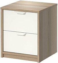 Ikea ASKVOLL Kommode mit 2 Schubladen;
