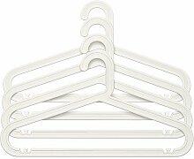 Ikea BAGIS Kleiderbügel in weiß; für innen und