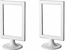 IKEA Bilderrahmen Tolsby, Weiß, 10,2x 15,2cm