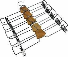 IKEA Bumerang Hosenbügel, Rockbügel, verchromt,
