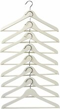 Ikea Bumerang-Kleiderbügel aus Holz, gebogen,