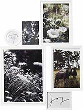 Ikea Collage Vitaby Rahmen für 6 Fotos weiß