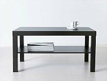 Ikea Couchtisch, schwarz, Lackier