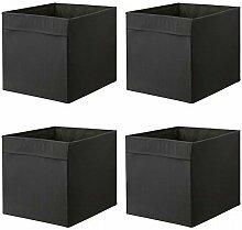 IKEA DRONA Aufbewahrungsbox, schwarz 33 x 38 x 33
