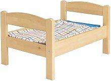 Ikea DUKTIG–doll-s Bett mit Bettwäsche Set,