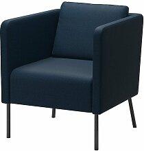 IKEA EKERO–Sessel, Skiftebo dunkelblau