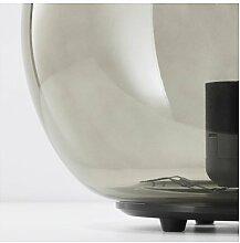 IKEA FADO Tischleuchte in grau; (24cm); A++