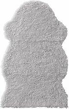 Ikea FARDRUP Lammfellimitat in grau; (100x60cm)