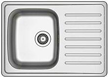 IKEA FYNDIG -1 Schüssel Einbauspüle mit