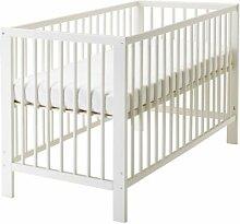 IKEA GULLIVER Babybett in weiß