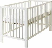Ikea Gulliver -Kinderbett weiß - 60x120 cm
