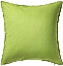 IKEA GURLI Kissenbezug in grün; (50x50cm)