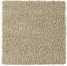Ikea HAMPEN Langflor Teppich in beige; (80x80cm)