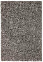 IKEA HAMPEN Langflor Teppich in grau; (160x230cm)