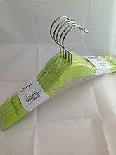 IKEA Hanga Kinder-Kleiderbügel aus Holz, grün,