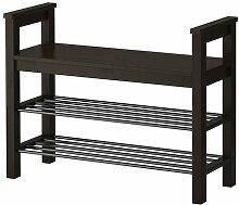 Ikea HEMNES-Bench mit Schuh-Aufbewahrung,