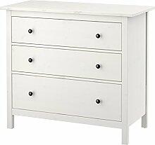IKEA.. Hemnes Kommode mit 3 Schubladen, weiß
