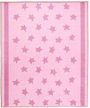 IKEA HIMMELSK Teppich in rosa; (133x160cm)