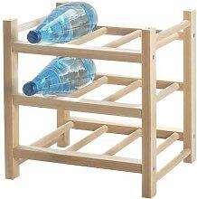 IKEA HUTTEN Weinregal aus Massivholz