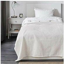 IKEA Indira Tagesdecke in weiß; 100% Baumwolle;