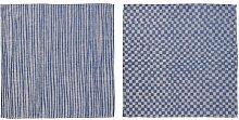 IKEA INDUSTRIELL Geschirrtücher in blau; 100%