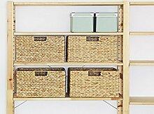 Ikea Ivar Regal Korb (4er-Set) / Wasserhyazinthe