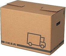 Ikea JÄTTENE Umzugskartons in braun; 10 Stück;
