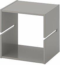 IKEA KALLAX–Regal Trennwand hellgrau