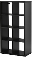 Ikea KALLAX Regal in schwarzbraun; (77x147cm);