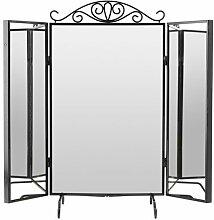 Ikea KARMSUND Tischspiegel in schwarz; (80x74cm)
