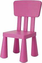 IKEA Kinderstuhl MAMMUT Kindermöbel Stuhl in PINK