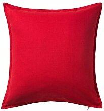 IKEA-– Kissenbezug, rot–50x 50cm, 3