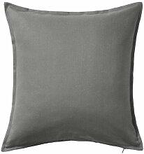 IKEA-– Kissenhülle, grau–50x 50cm,