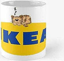 Ikea Kitty Classic Tasse, lustiges Geschenk, 325 ml