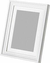 Ikea Knoppang Bilderrahmen, Holz, 10 x 15 cm, Weiß