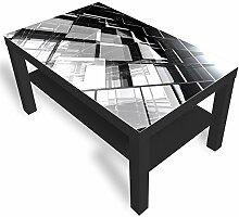 IKEA Lack Beistelltisch Couchtisch 'Glas'