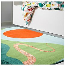 Ikea Lattjo Teppich Hochflor Multicolor 503.578.08