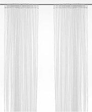 Ikea Lill–Gardinen Netzwerkkabel, Paar, Weiß