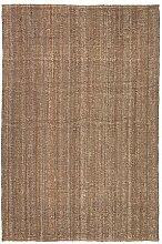 IKEA LOHALS Natur Teppich flach gewebt; (160x230cm)