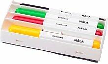 IKEA Mala White Board Marker Set - Yellow Black,