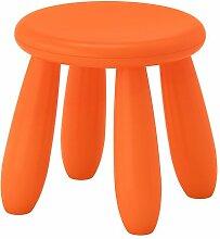 Ikea Mammut Kinderhocker in Orange; für Drinnen